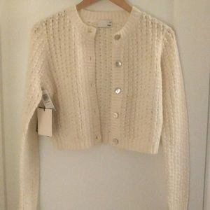 (Brand New) Aritzia Wilfred Free Fortune Cardigan